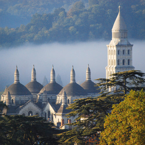 La cathédrale Saint-Front, Périgueux en Périgord blanc